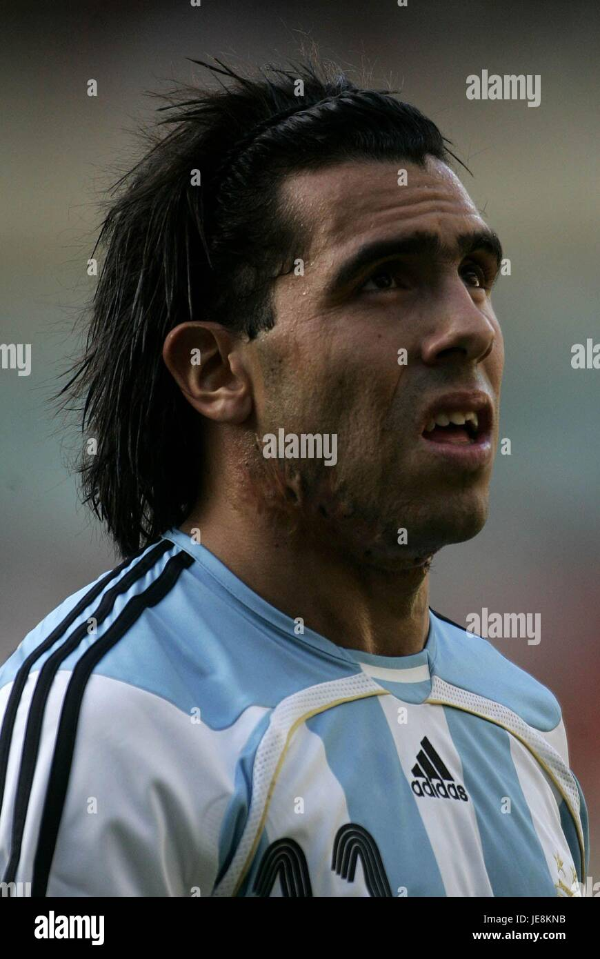CARLOS TEVEZ ARGENTINA ASHBURTON GROVE LONDON ENGLAND 03 September