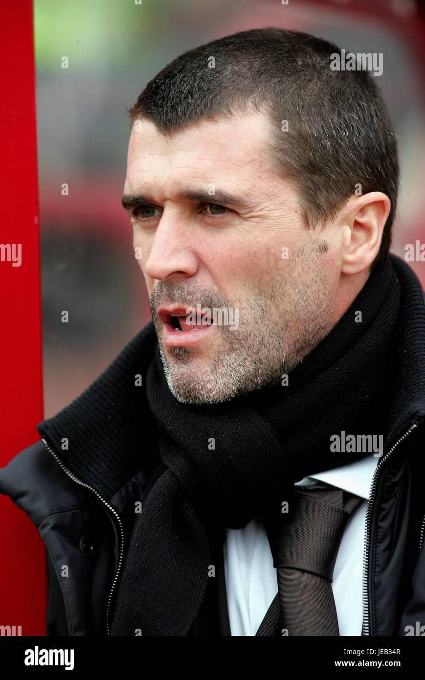 ROY KEANE SUNDERLAND FC MANAGER OAKWELL BARNSLEY ENGLAND 10 March