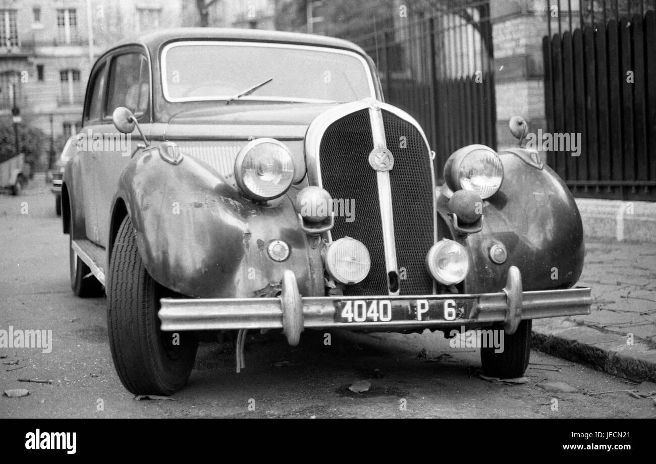 Paris France Hotchkiss Berline Famous French Pre World War Ii