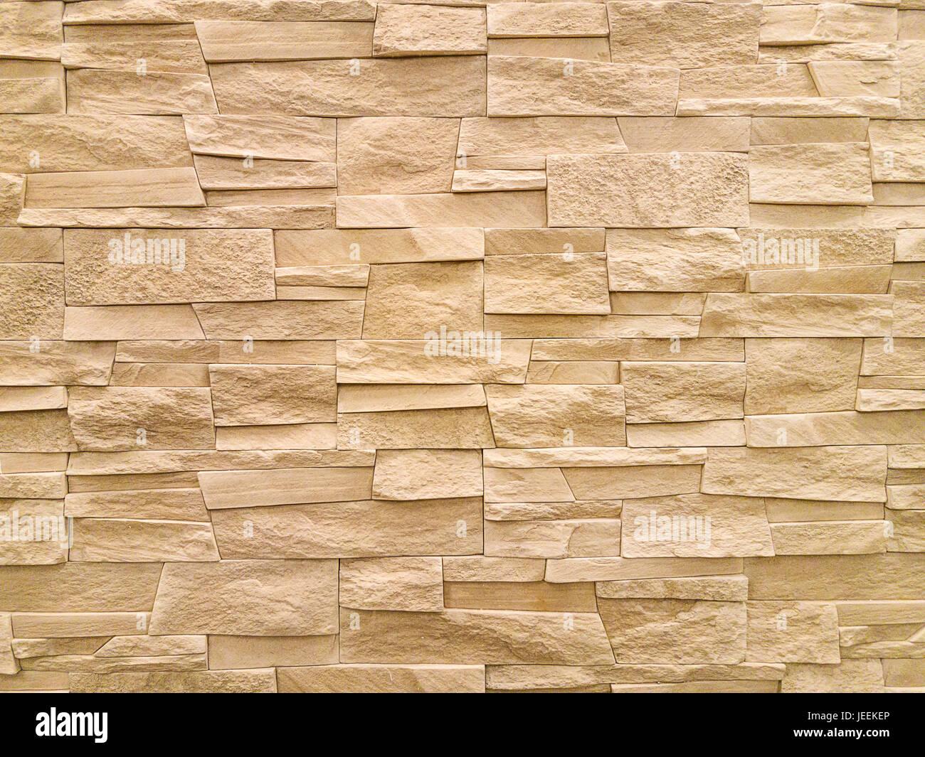 Modern sandstone stone wall background texture Stock Photo ...