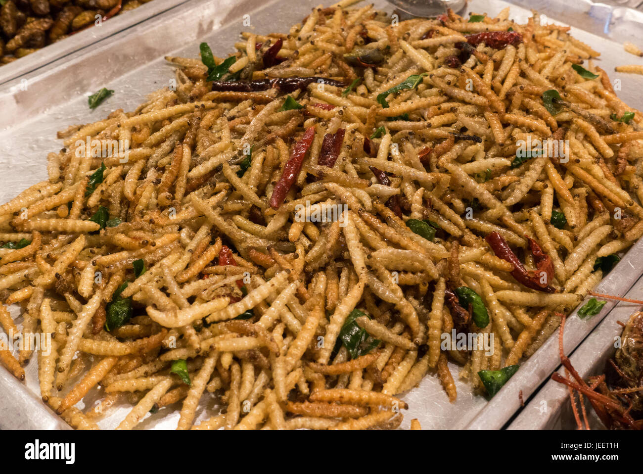 how to eat fried worms project ideas