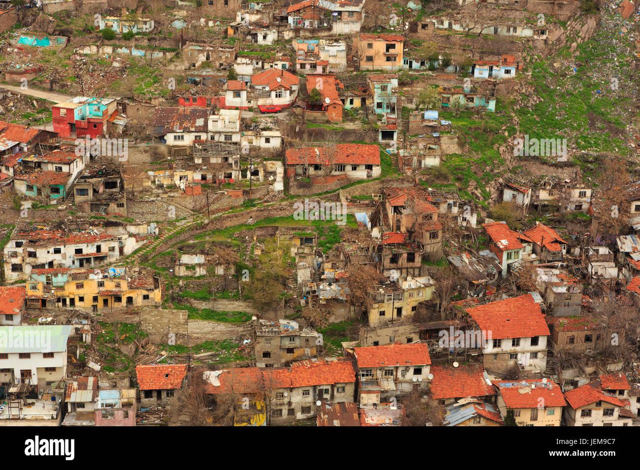 unplanned urbanization