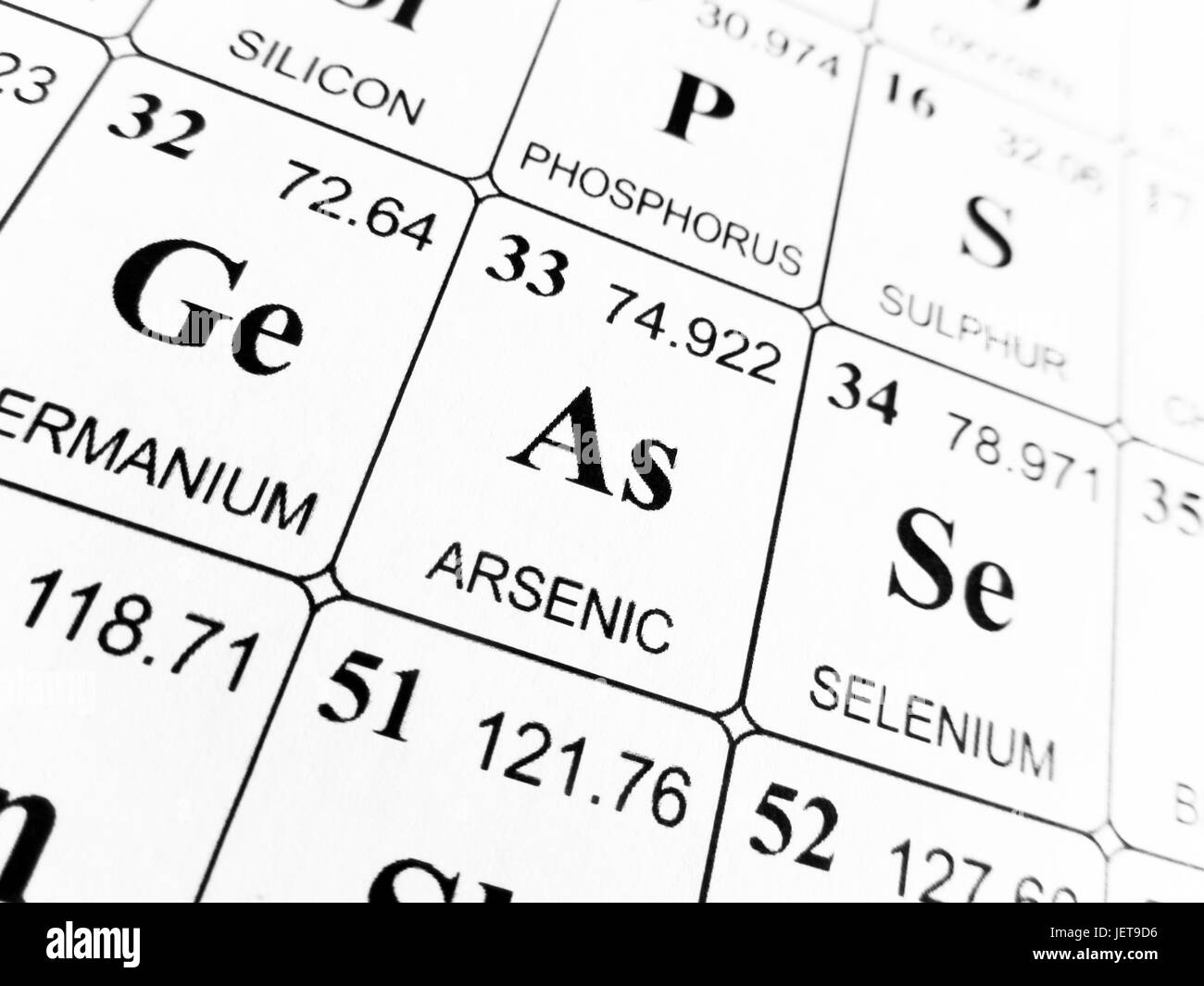 Arsenic on the periodic table of the elements stock photo arsenic on the periodic table of the elements biocorpaavc Image collections