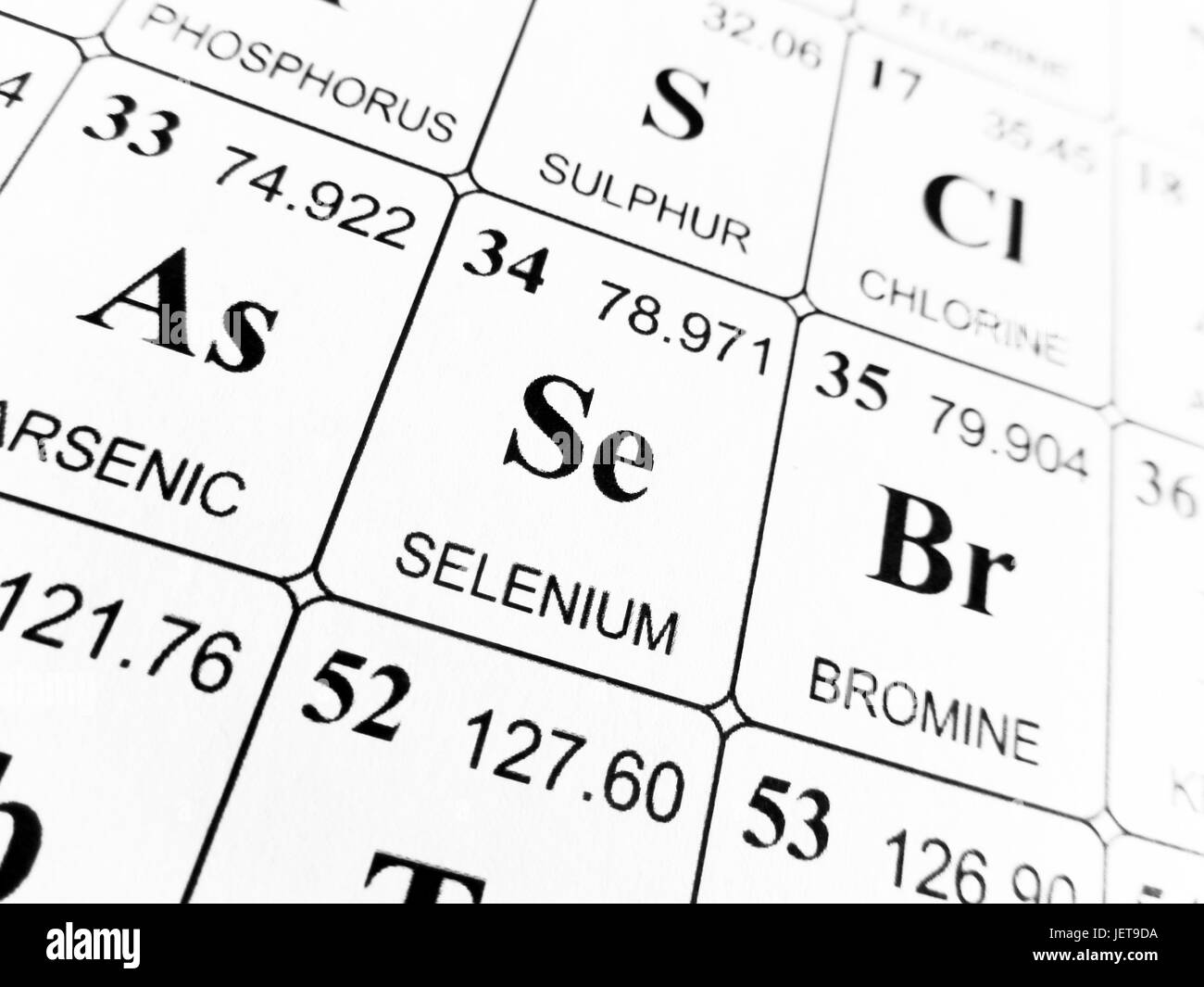 Selenium on the periodic table of the elements stock photo selenium on the periodic table of the elements gamestrikefo Gallery