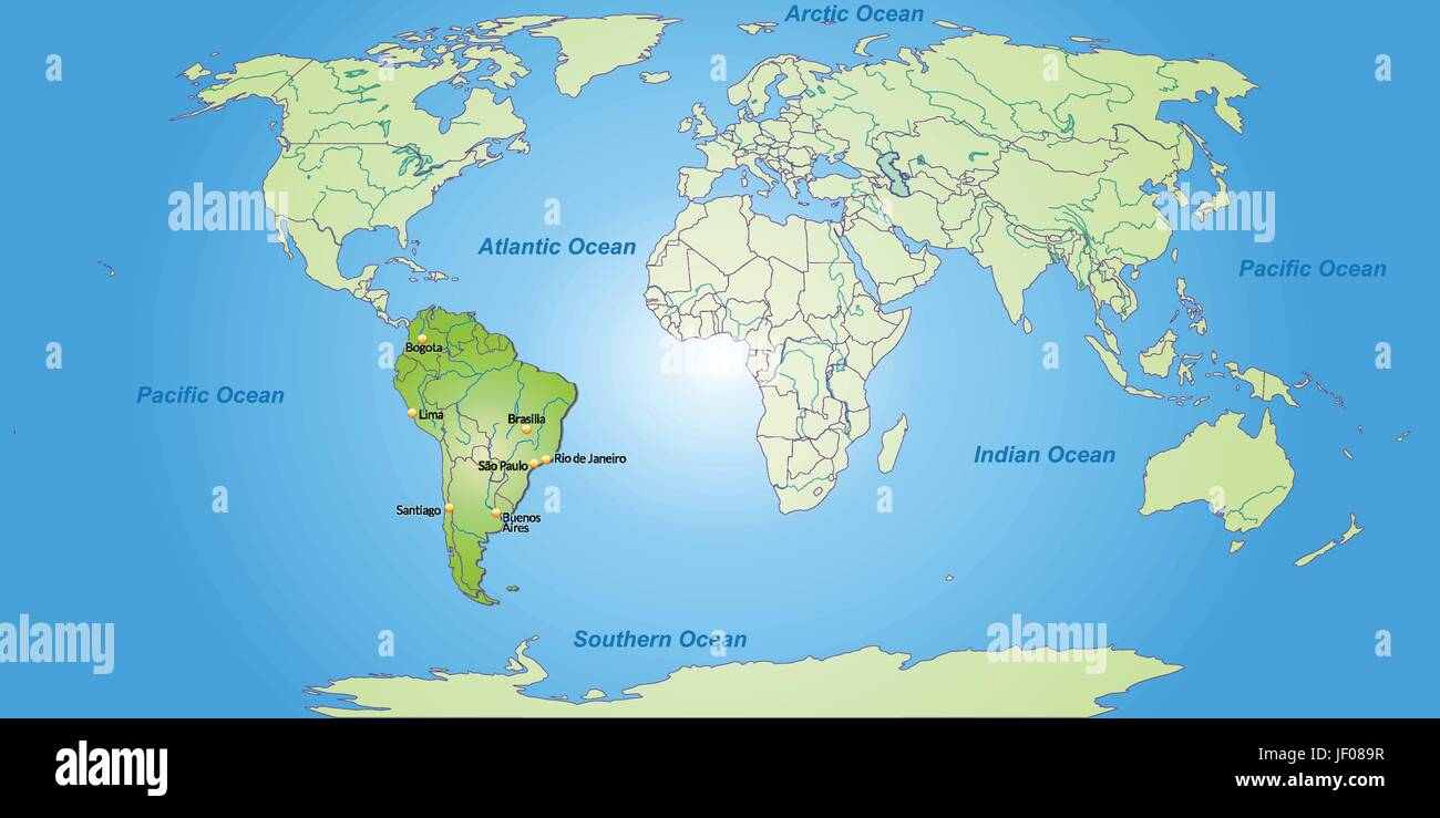South america card outline globe planet earth world borders south america card outline globe planet earth world borders atlas map gumiabroncs Image collections