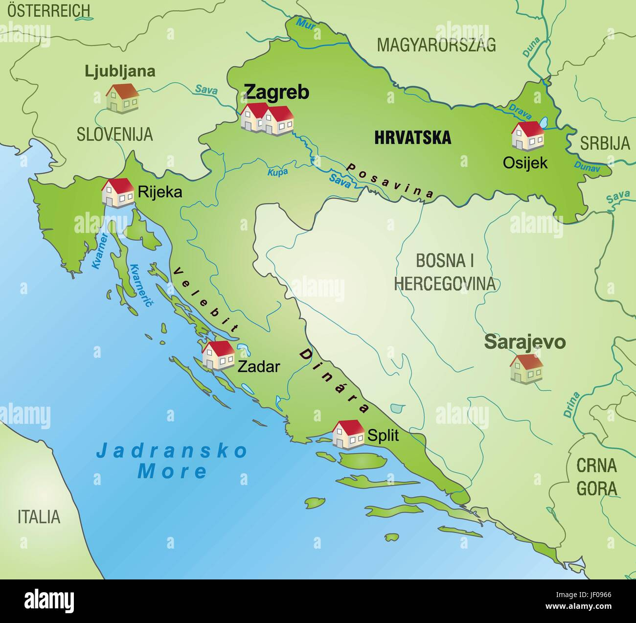Border card croatia synopsis borders atlas map of the world border card croatia synopsis borders atlas map of the world map gumiabroncs Image collections