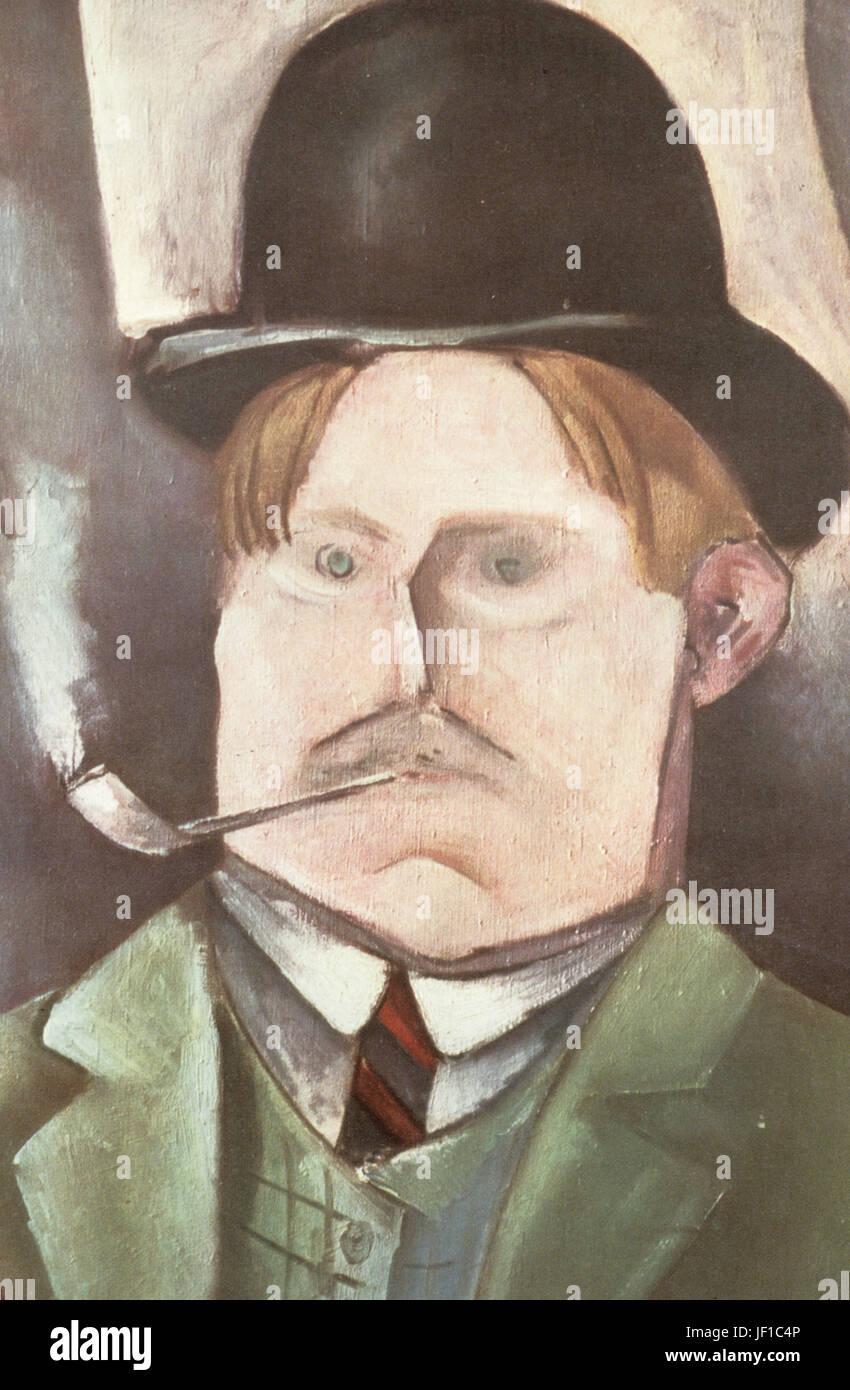 Maurice De Vlaminck Self Portrait