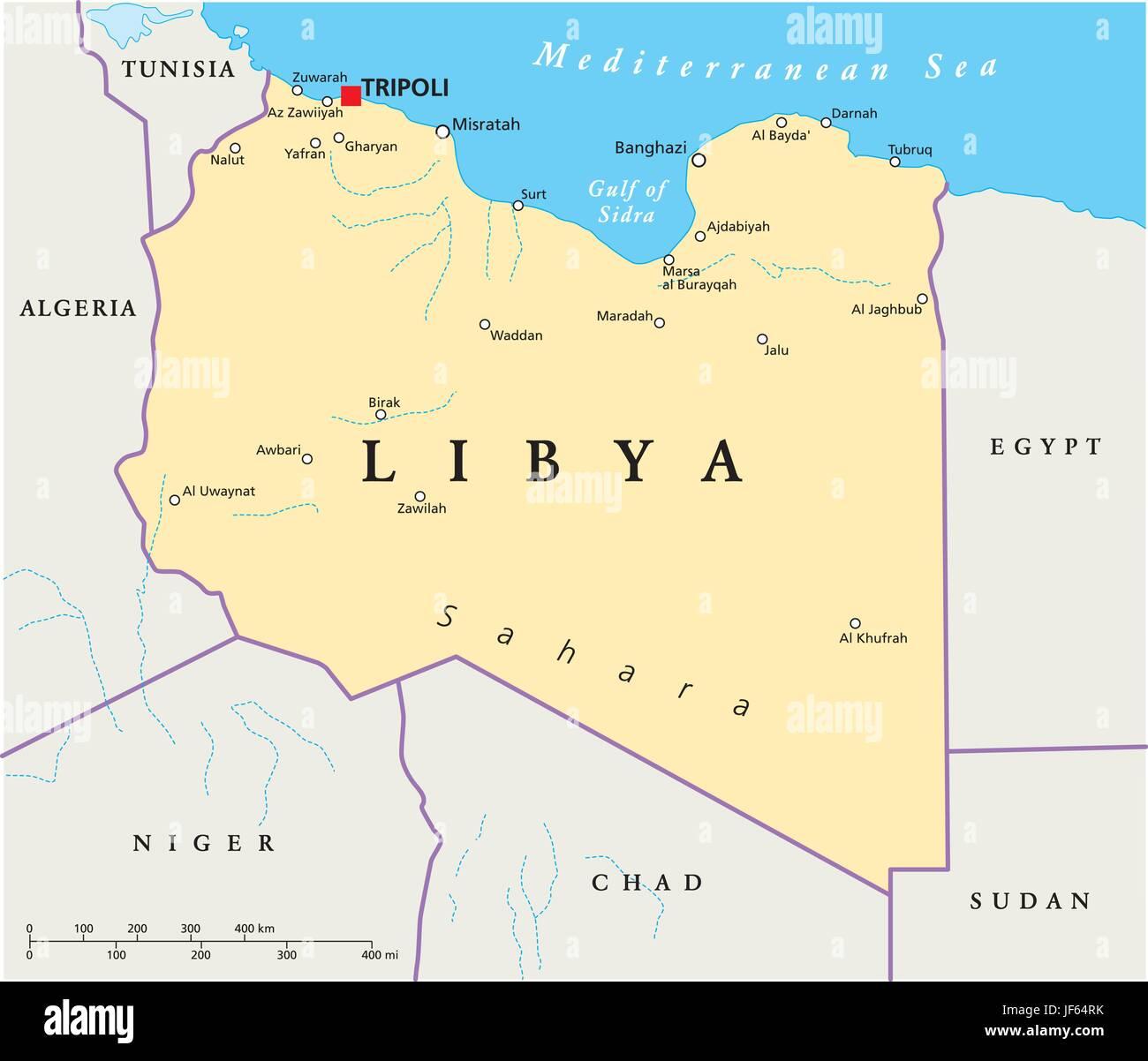 libya map atlas map of the world tripoli desert wasteland