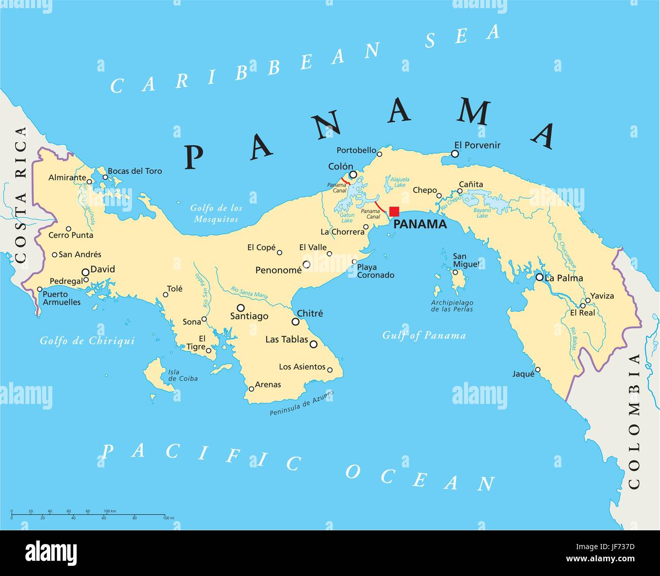 Route Panama Canal Map Shipping Atlas Map Of The World - World map panama