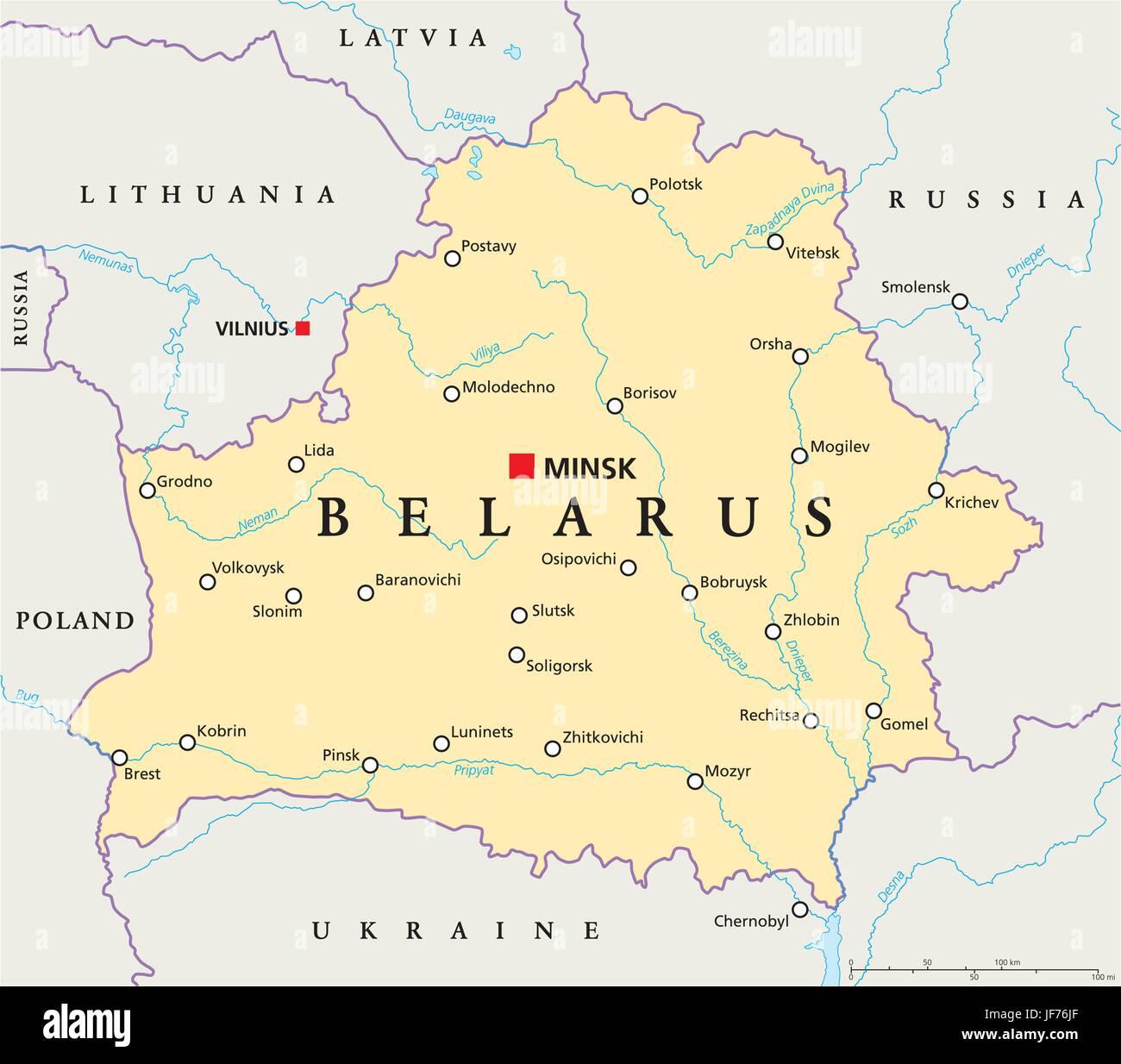 Eastern Europe Eurasia Map Atlas Map Of The World Belarus - Belarus map