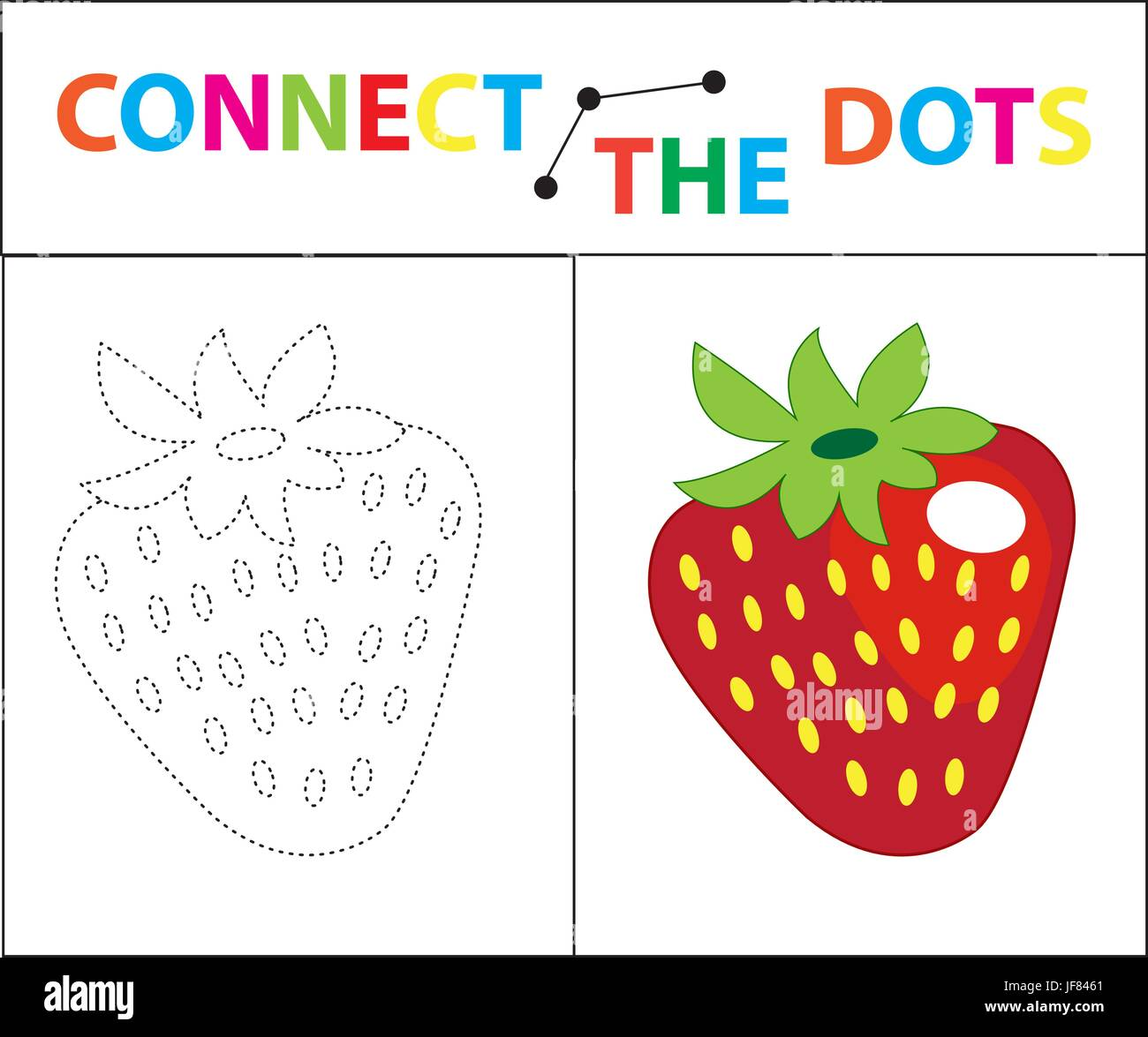 children u0027s educational game for motor skills connect the dots