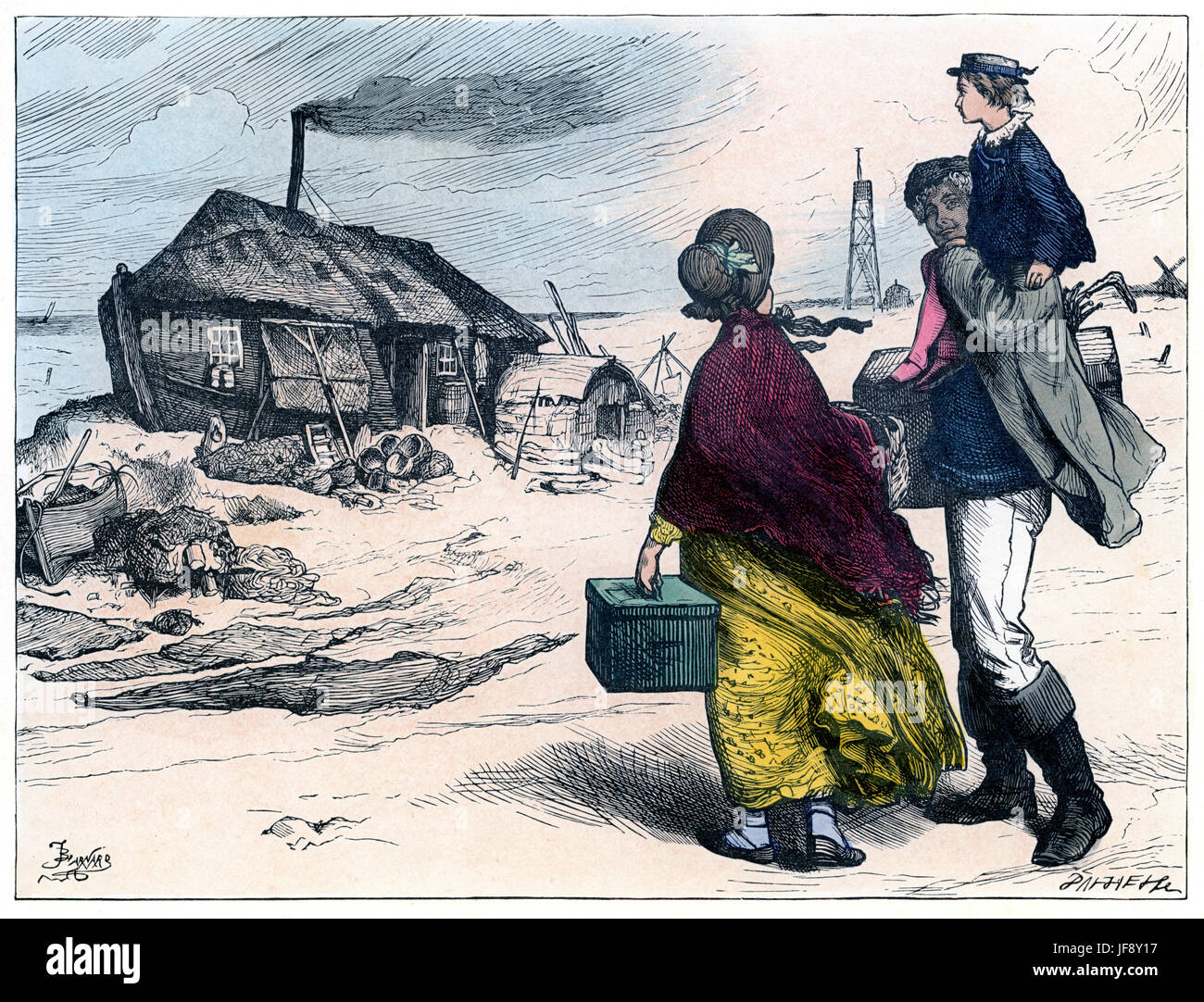 character peggotty stock photos character peggotty stock images  david copperfield novel by charles dickens 7 1812 9 1870