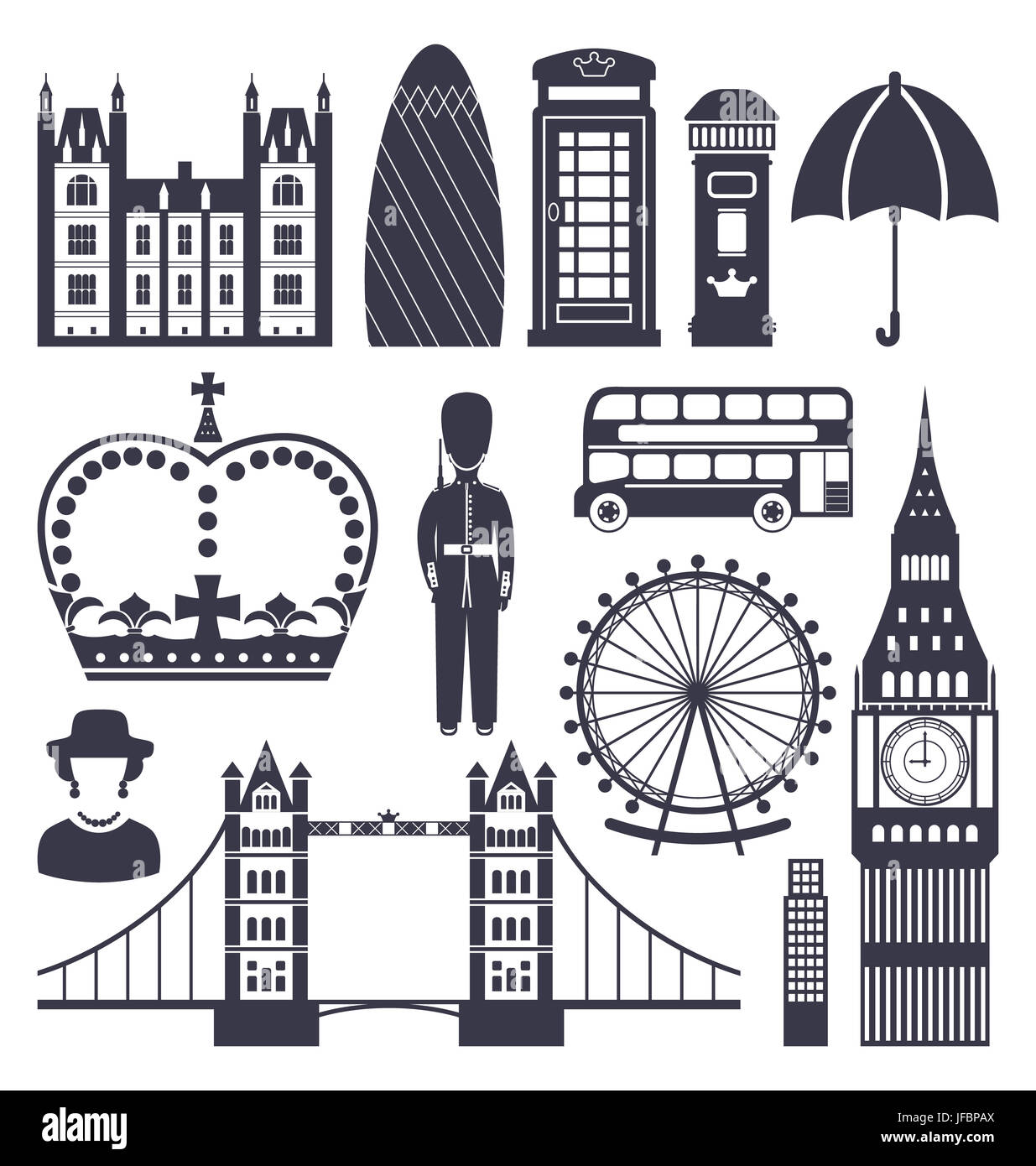 Symbols of a queen gallery symbol and sign ideas illustration silhouette symbols of great britain kingdom big ben illustration silhouette symbols of great britain kingdom buycottarizona