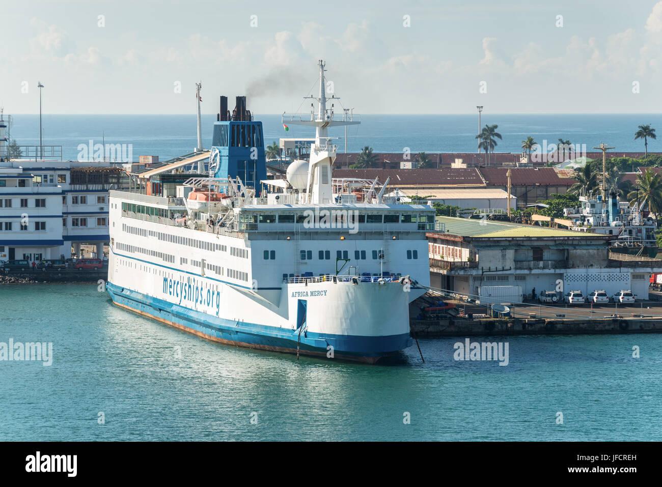 Toamasina madagascar december 22 2017 hospital ship africa toamasina madagascar december 22 2017 hospital ship africa mercy in the port of toamasina tamatave madagascar the africa mercy is currently t stopboris Images