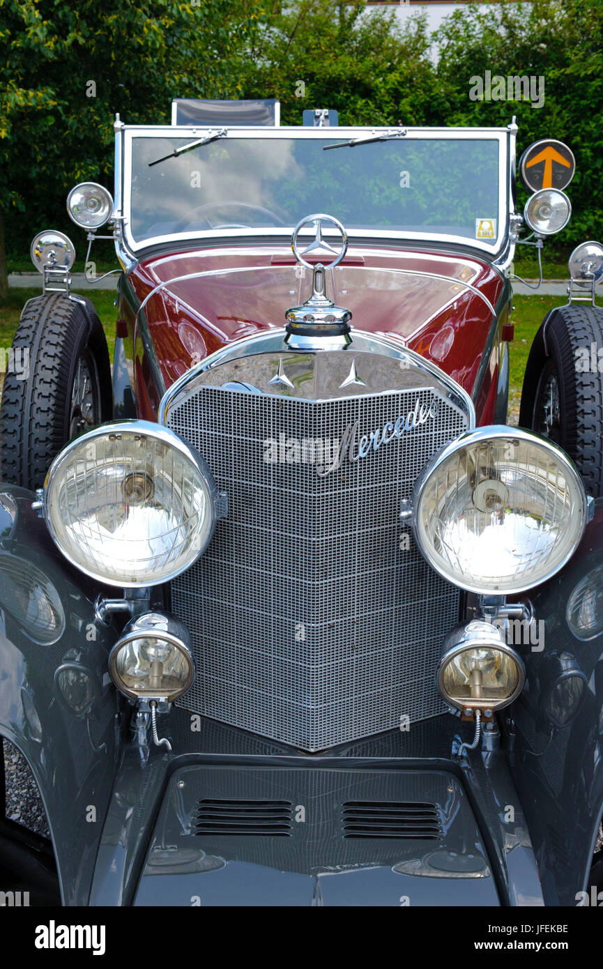 Old-timer rally \'Herkomer contention\' in Landsberg in Lech for at ...