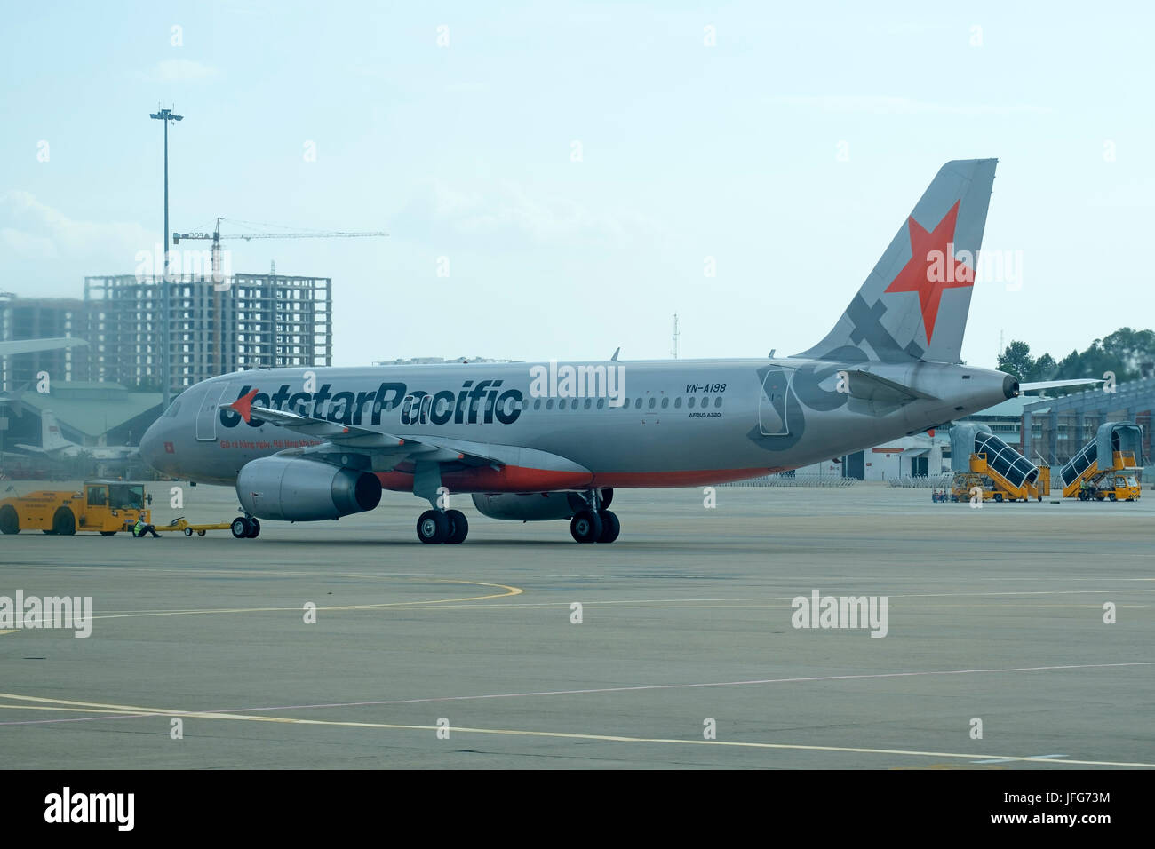 Jetstar pacific airlines boeing a320 airplane stock photo royalty jetstar pacific airlines boeing a320 airplane sciox Images