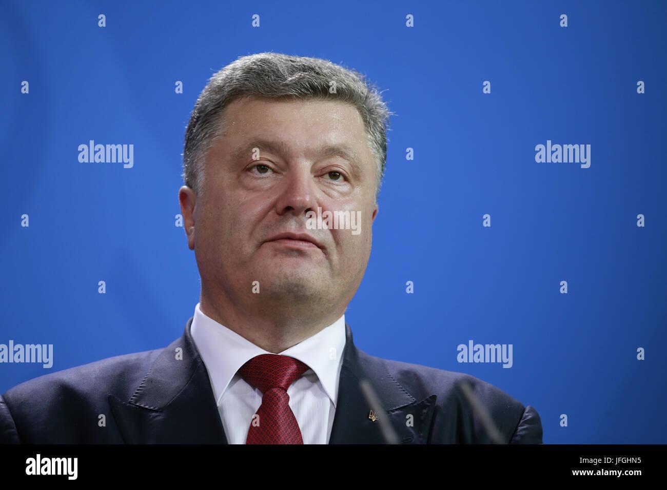 meeting merkel poroschenko