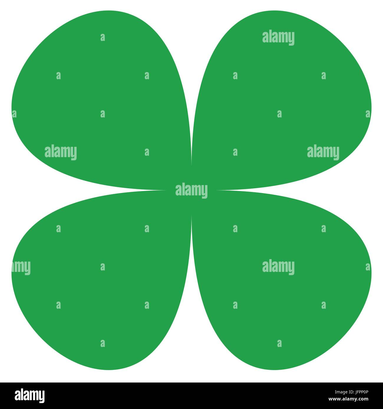 Uncategorized Lucky Symbol four leaf clover symbol simple flat icon for luck lucky concepts concepts