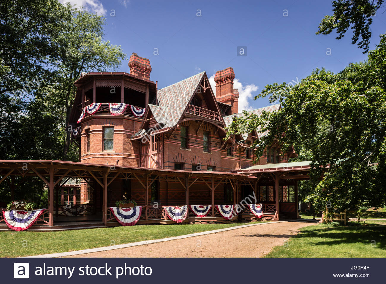 Mark Twain House Hartford, Connecticut, USA