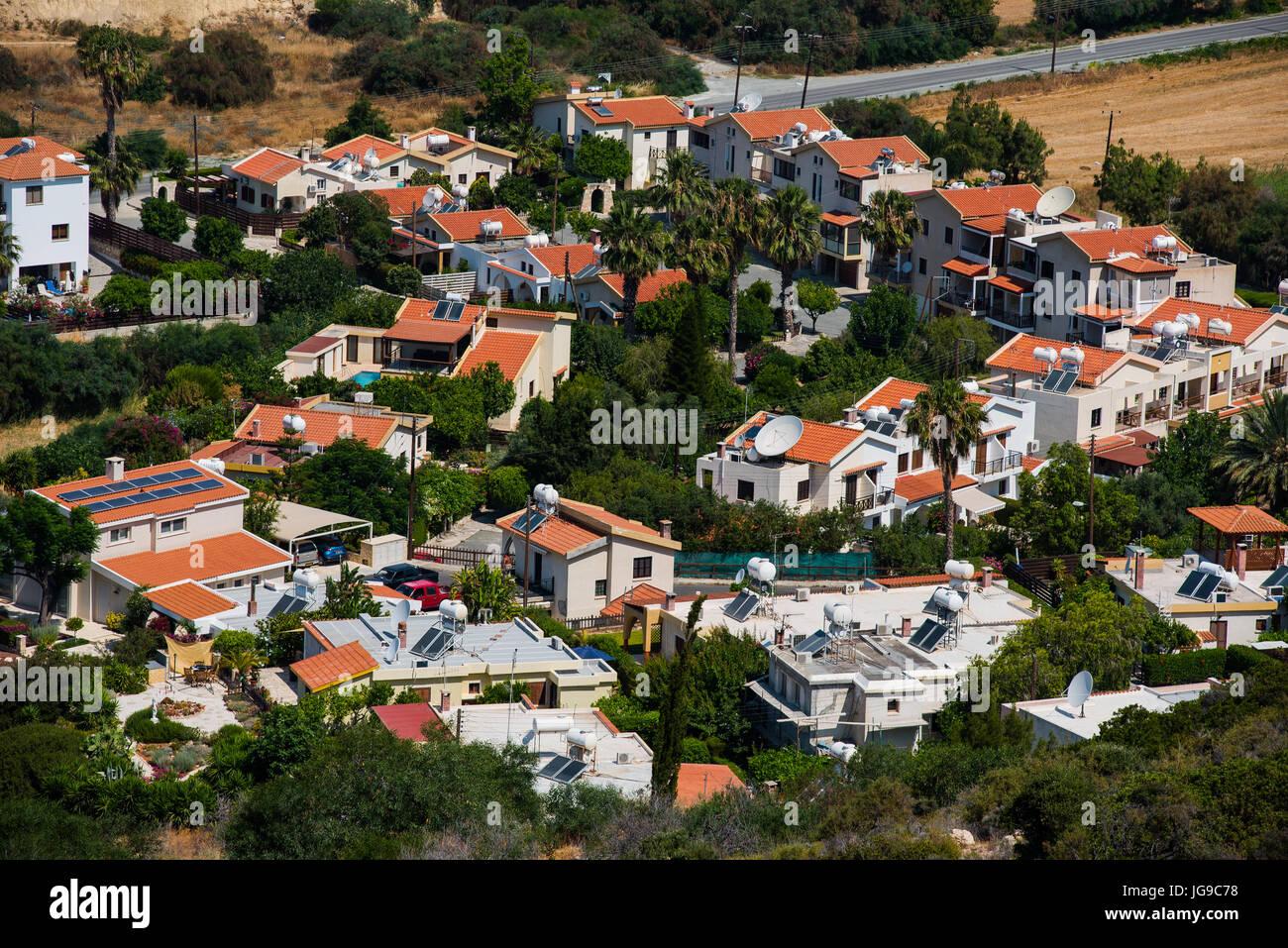 pissouri bay, cyprus - june 14, 2017: the pissouri bay resort is a