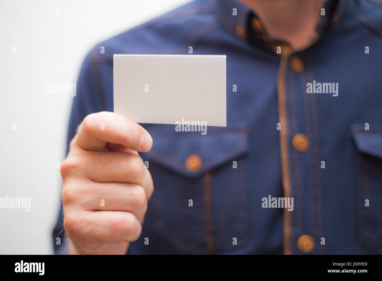 Bank card business card businessman holds card in hand finances bank card business card businessman holds card in hand finances jobs magicingreecefo Choice Image