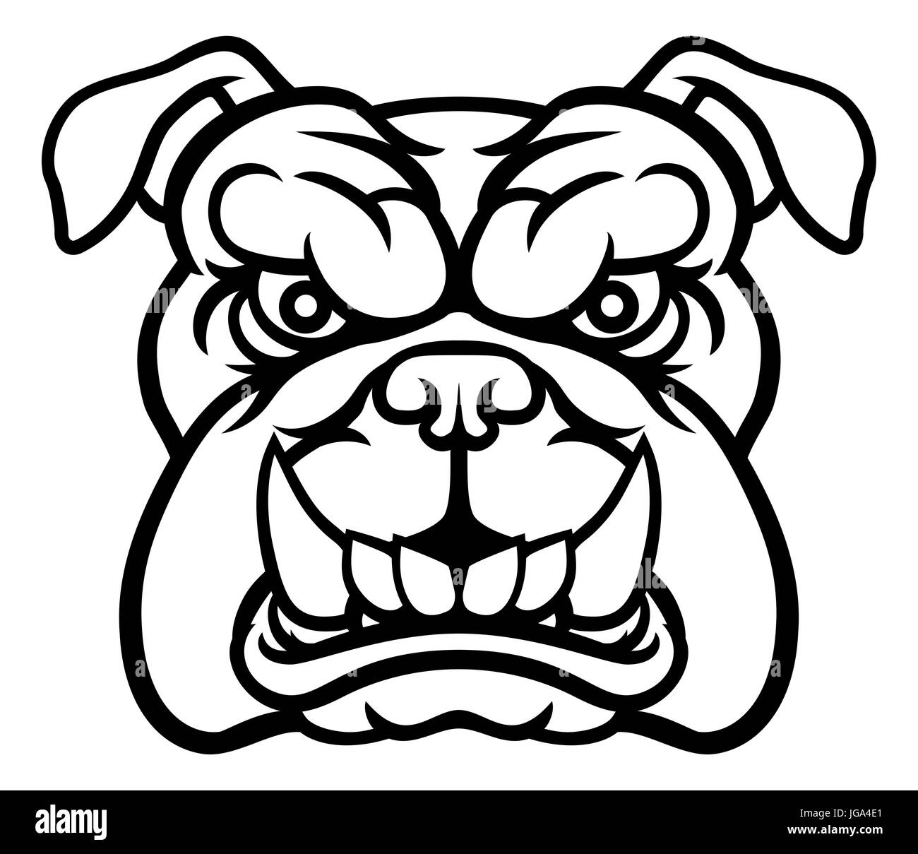 Scribble Drawing Meaning : Mean dogs drawings pixshark images galleries