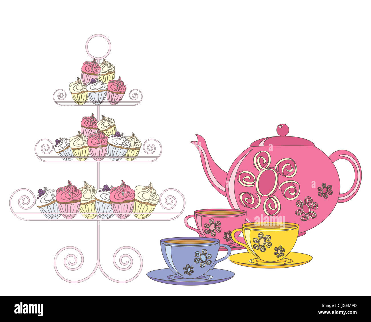 Free Download Cake And Teas