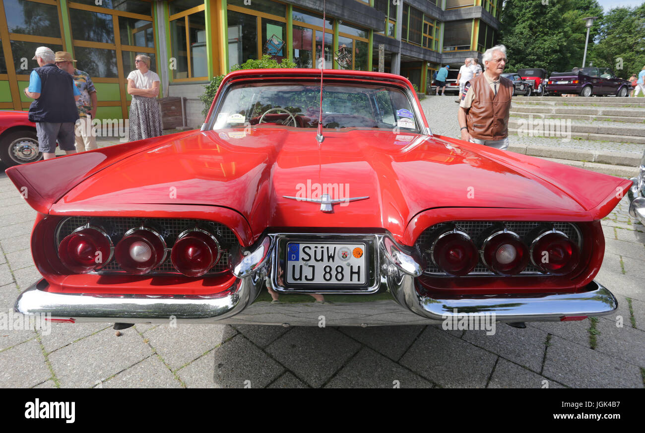 8th July 2017 A Ford Thunderbird From 1960 Photogrpahed