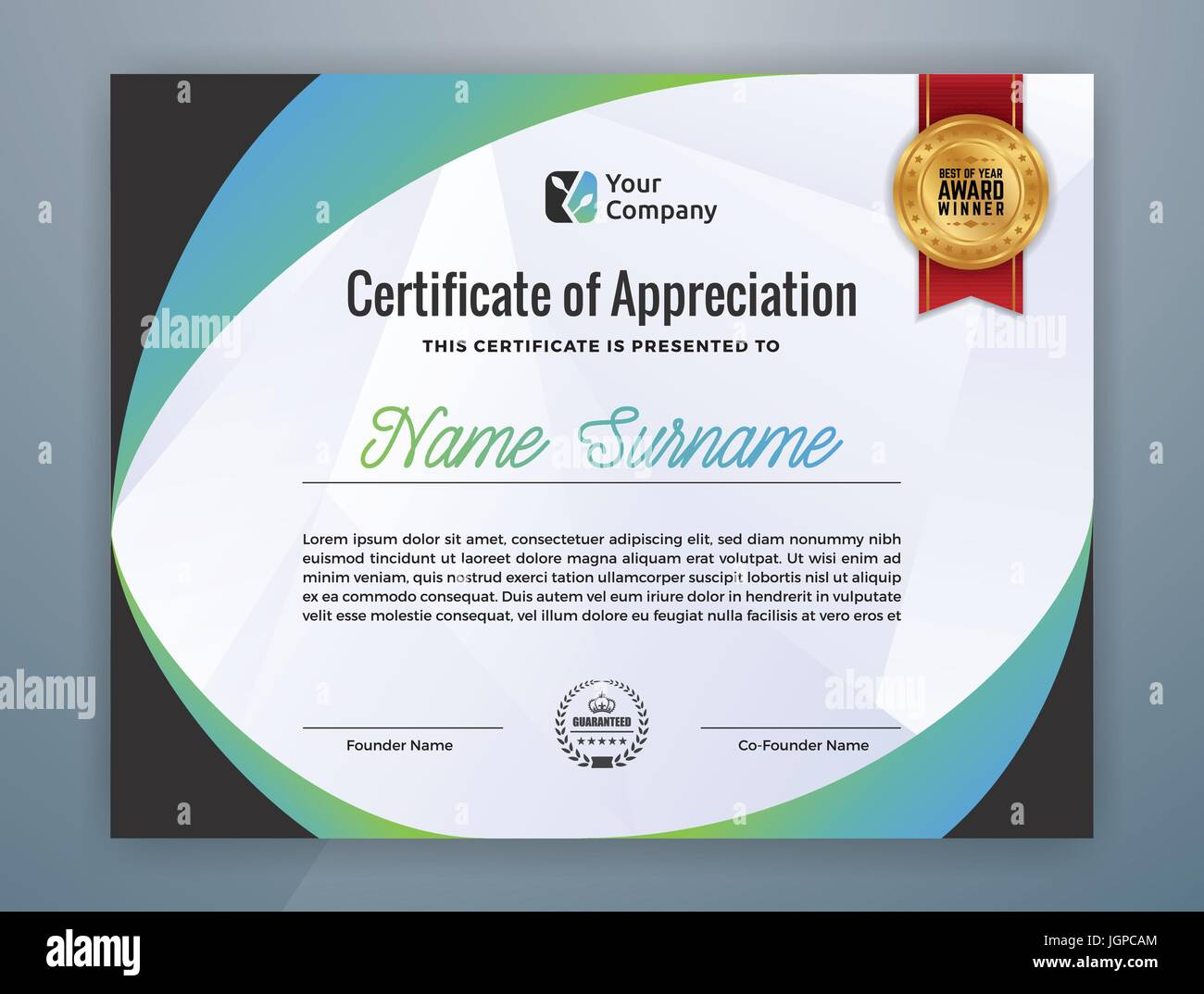 Free professional certificate templates