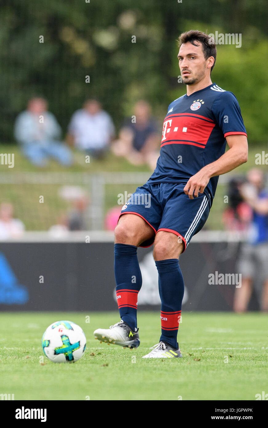 Herzogenaurach Germany 9th July 2017 Bayern s Mats Hummels in
