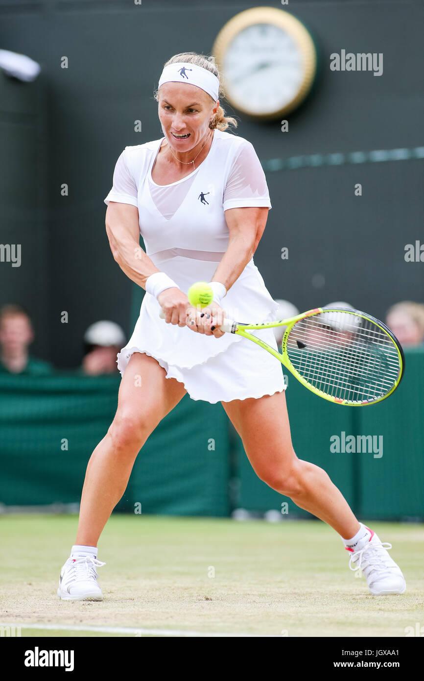 London UK 11th July 2017 Svetlana Kuznetsova RUS Tennis