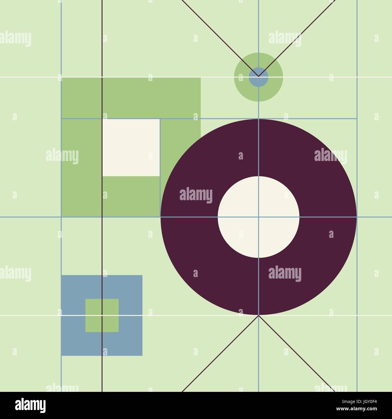 Mid Century Modern 1950s Style Vintage Retro Atomic Seamless Background  Pattern. Fully Editable Vector Illustration