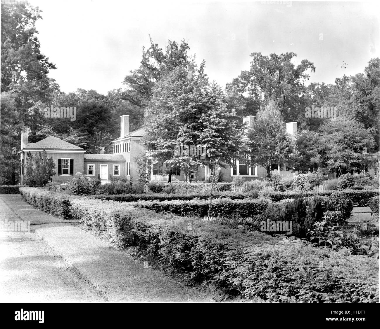 The Greenhouse And Botanical Gardens Of The Johns Hopkins Club In  Baltimore, Maryland, 1910