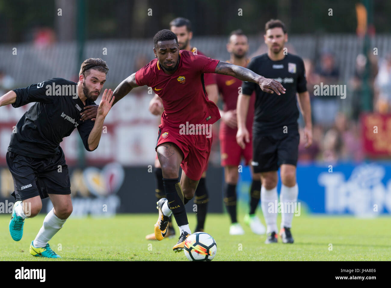 Pinzolo Italy 11th July 2017 Gerson Roma Football Soccer