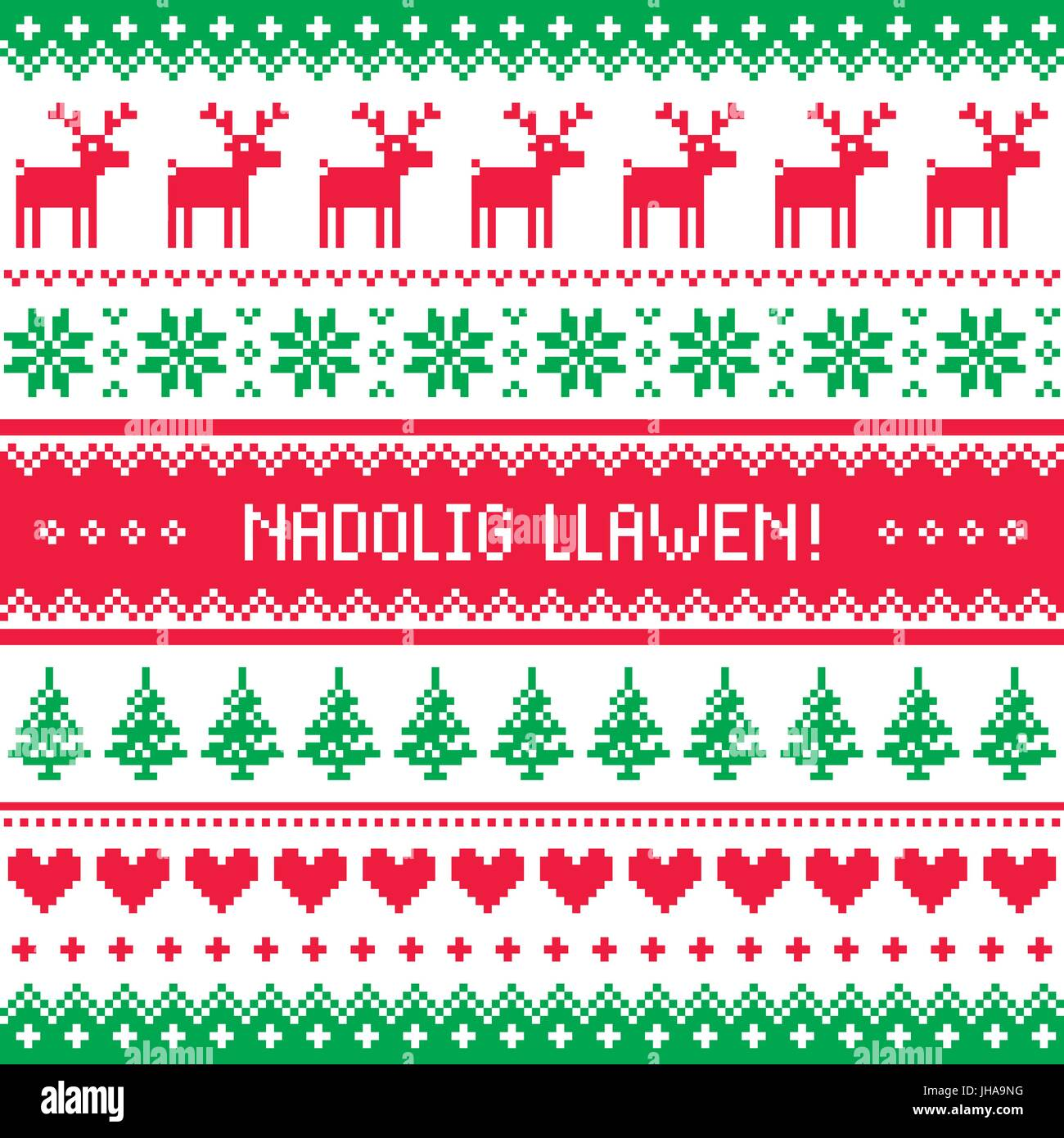 Nadolig llawen merry christmas in welsh greetings card seamless nadolig llawen merry christmas in welsh greetings card seamless pattern kristyandbryce Image collections