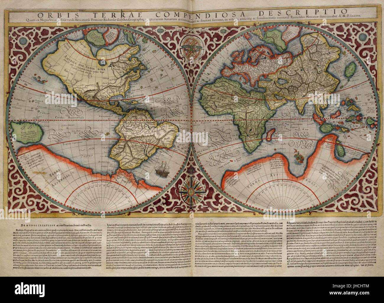 Mercator world map stock photo royalty free image 148409540 alamy mercator world map sciox Choice Image