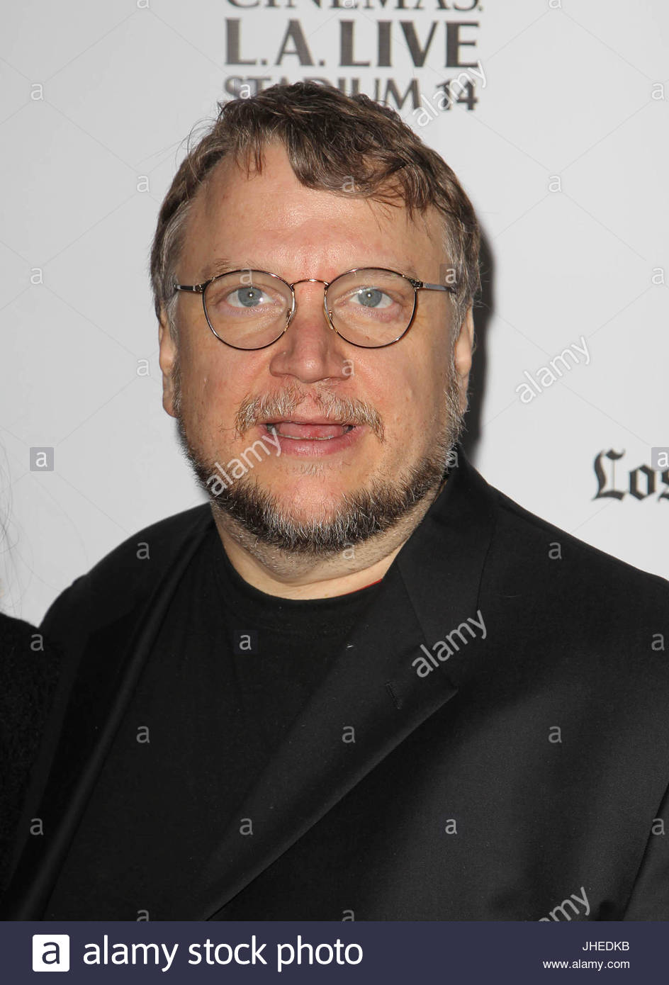 Guilhermo Del Toro for guillermo del toro, lorenza newton. 'i'm so excited' opening night