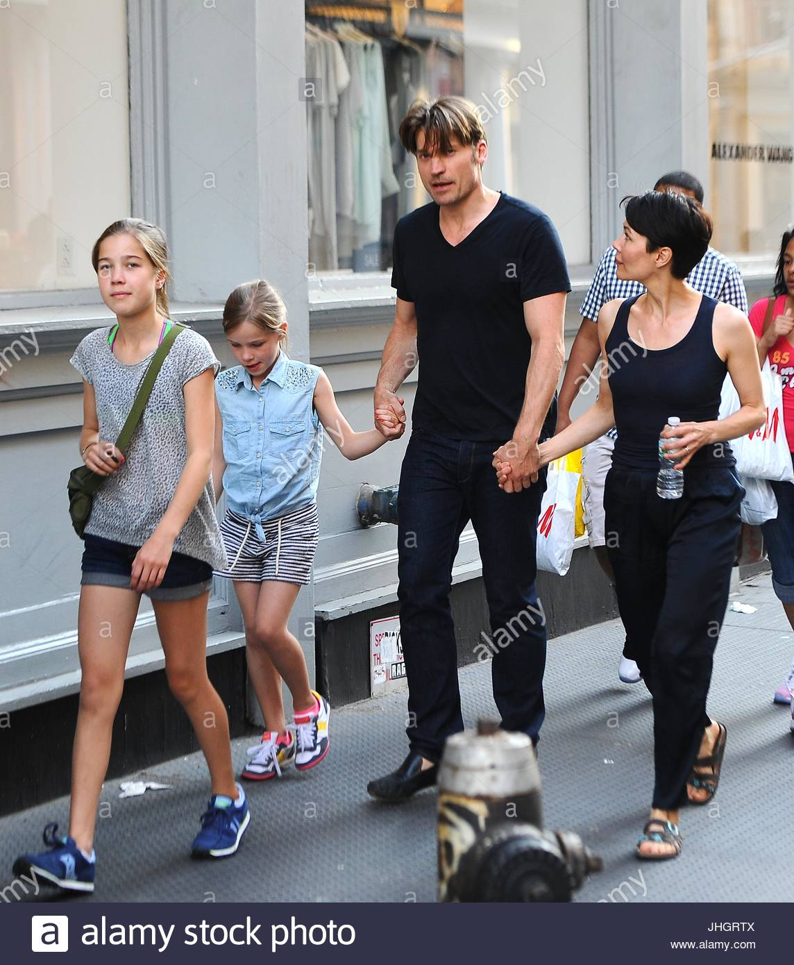 Nikolaj Coster-Waldau. Nikolaj Coster-Waldau and wife and ...