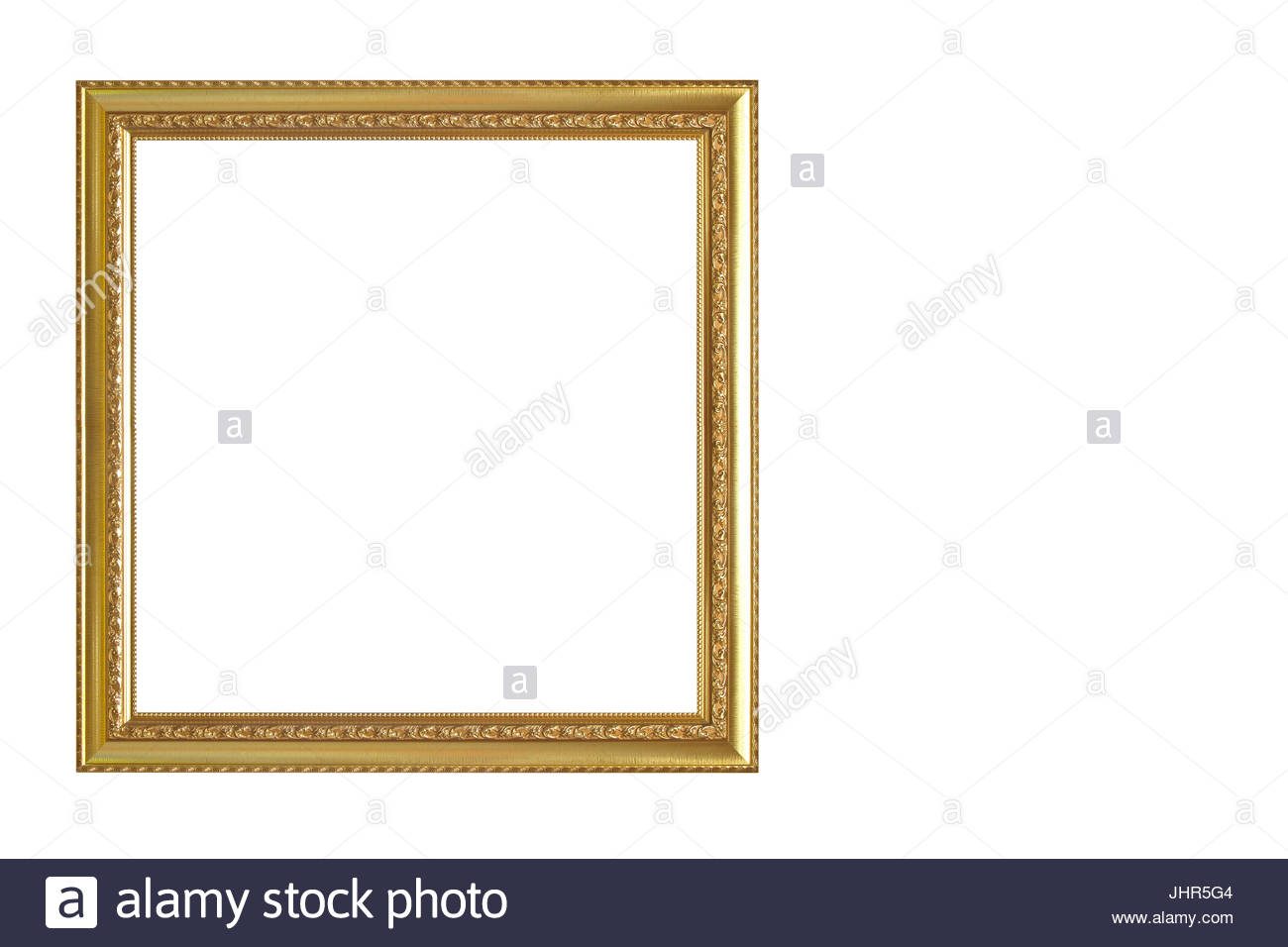 Wooden picture frame isolated on white background stock photo wooden picture frame isolated on white background jeuxipadfo Gallery