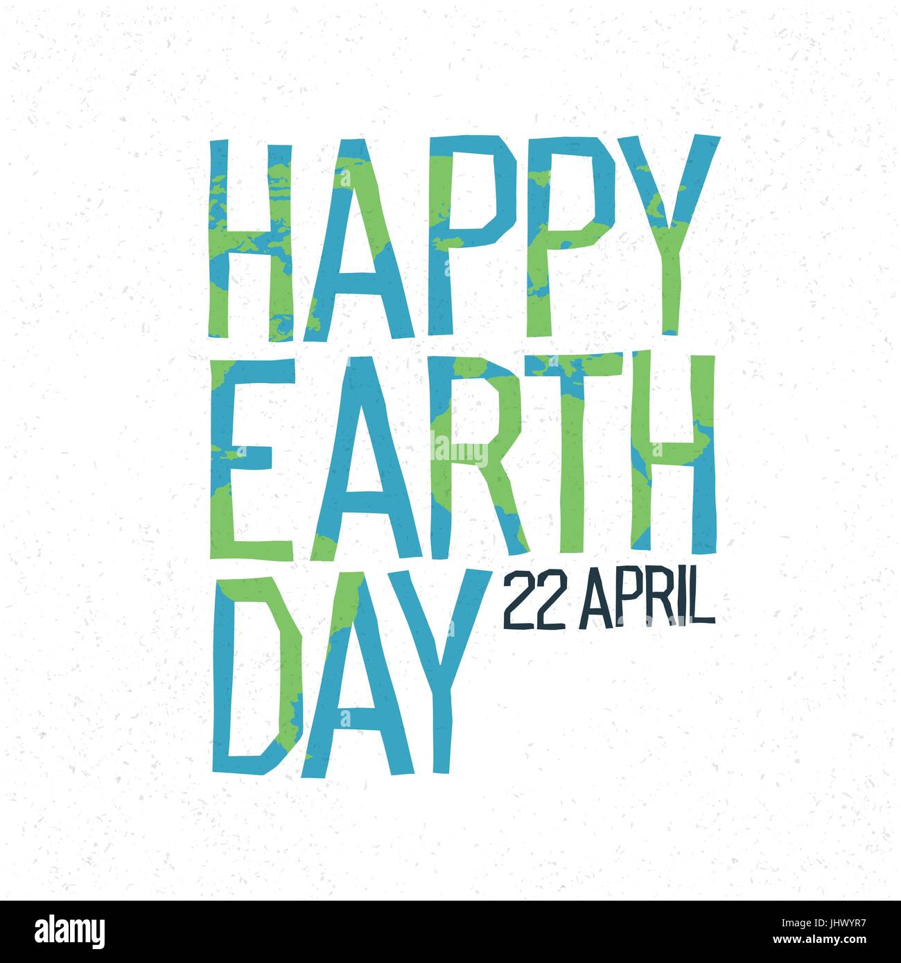 Happy earth day 22 april abstract logo design world map shaqped happy earth day 22 april abstract logo design world map shaqped letters gumiabroncs Images