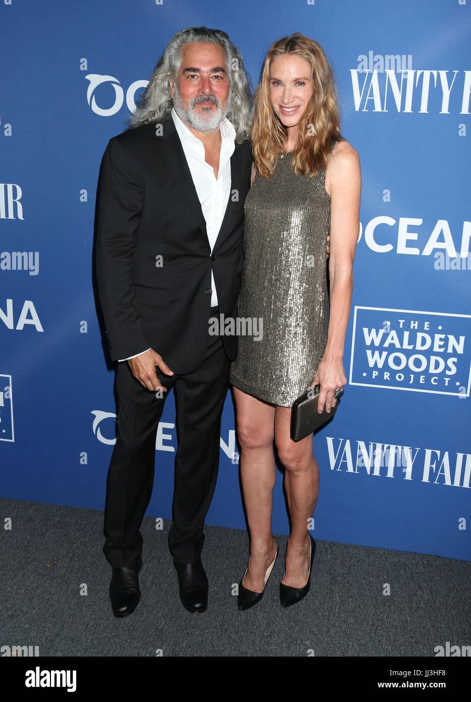 Los Angeles, USA. 17th July, 2017. Mitch Glazer and Kelly ...