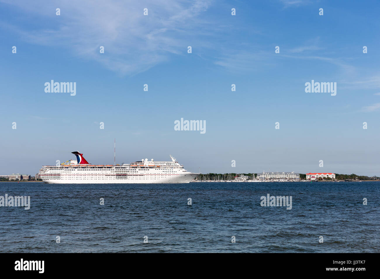 Charleston SC March Cruise Ship Leaving Historic - Cruises leaving from charleston