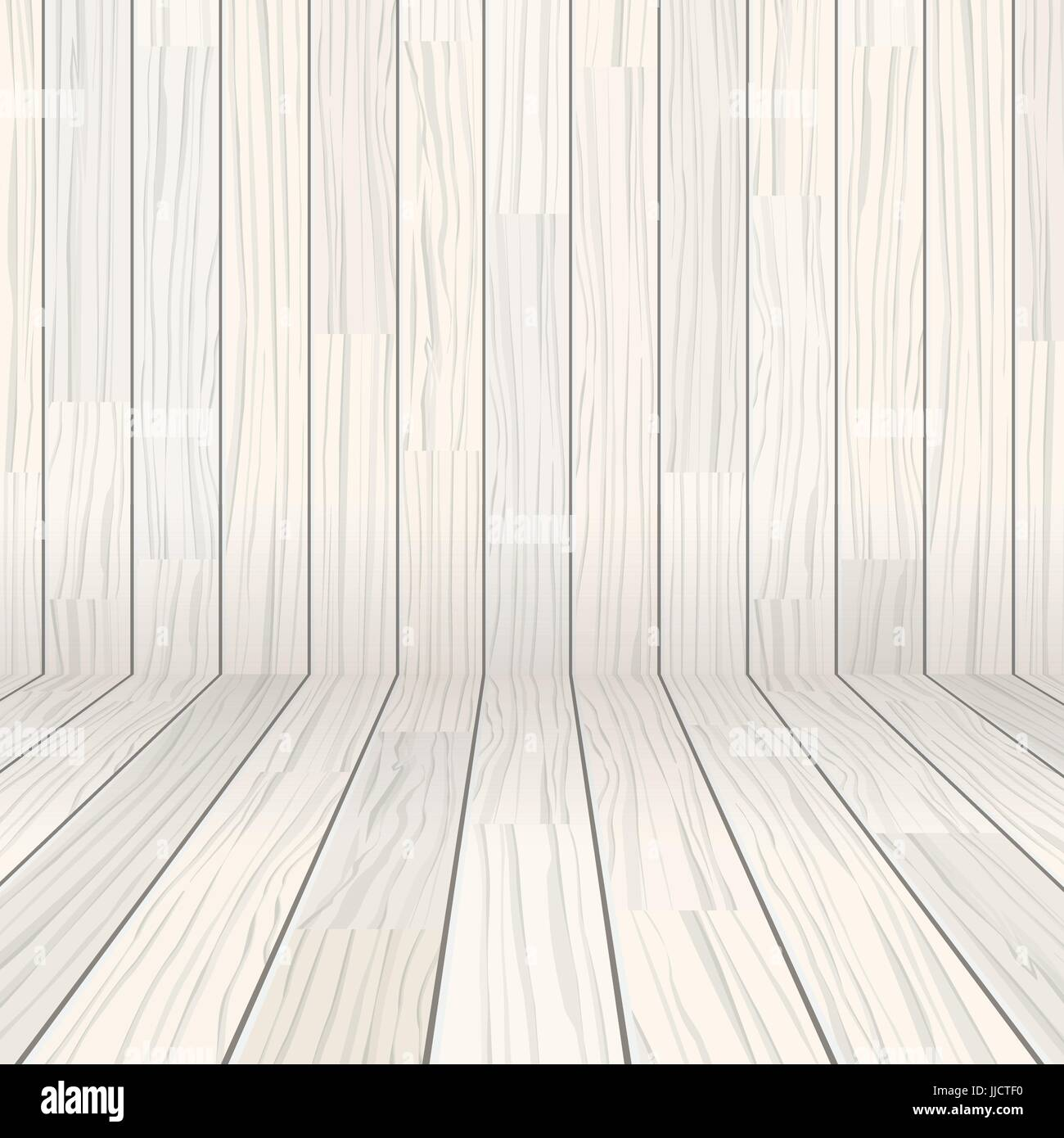 vector wooden texture empty room background