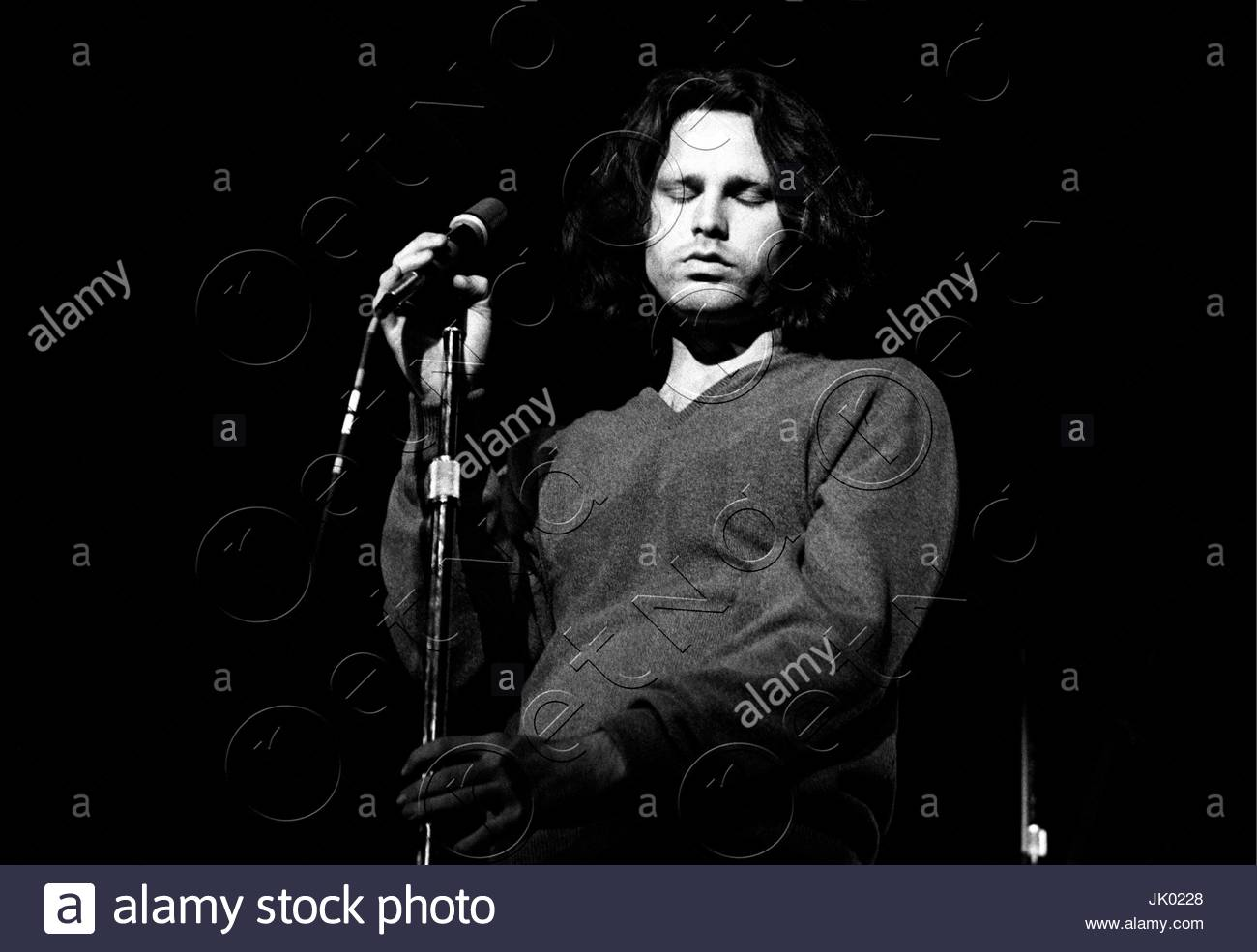 Jim Morrison of The Doors performing at the Boston Arena in Boston MA on April 10 1970. During this concert Jim Morrison asked the audience if  anyone ...  sc 1 st  Alamy & Jim Morrison of The Doors performing at the Boston Arena in Boston ... pezcame.com