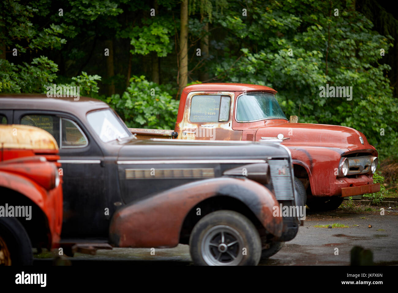 rustyOld american classic cars in need of restoration for sale near ...