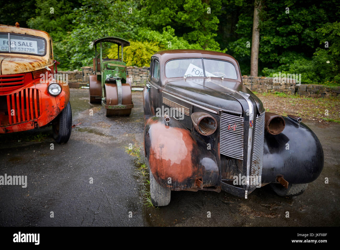 Old american classic cars in need of restoration for sale near ...