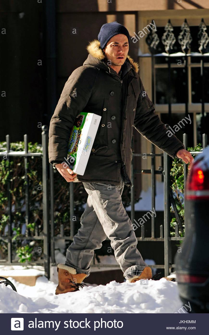 Shane Deary Shane Deary Shane Deary Carries The Wii Game Skylanders While