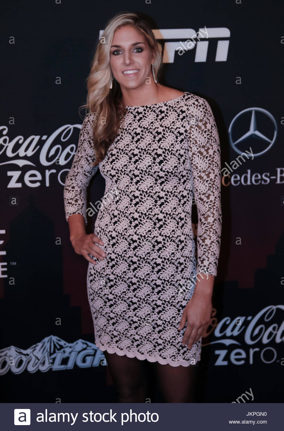 Elena Delle Donne. Celebrities and athletes walk the red carpet ...