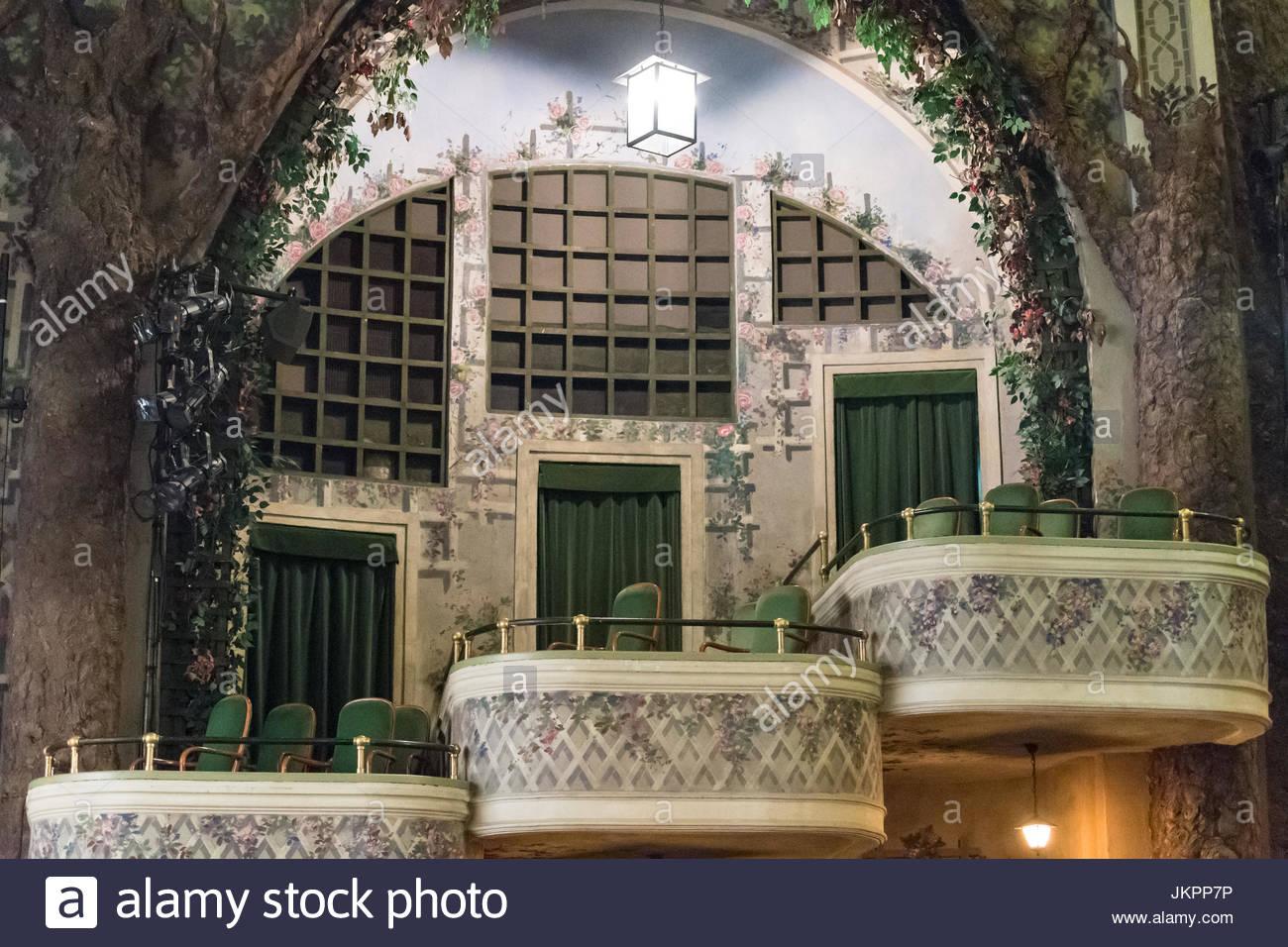 winter garden theatre interior architectural detail the famous