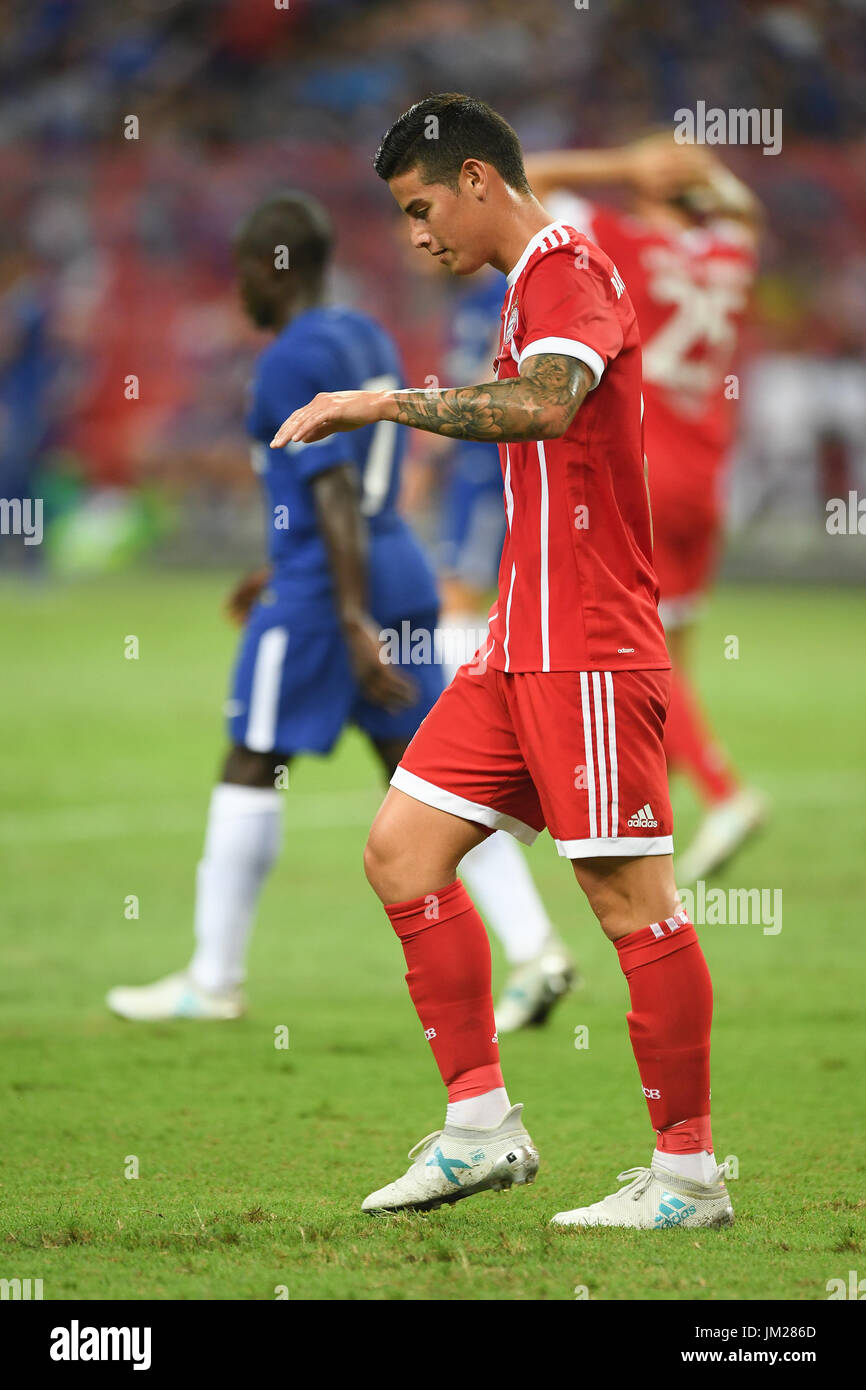 FC BAYERN James Rodriguez CHELSEA FC VS FC BAYERN 25 July 2017